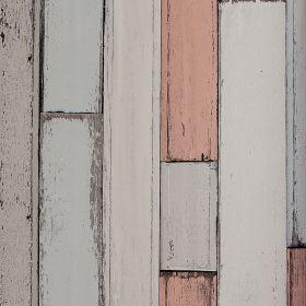 Papel pintado Parquet Multicolor