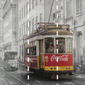 Fotomurales Tranvia Coca Cola