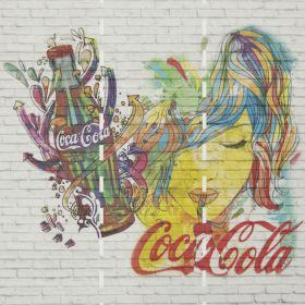 Fotomurales Coca Cola Multicolor 1