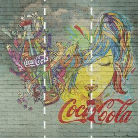 Fotomurales Coca Cola Multicolor 2