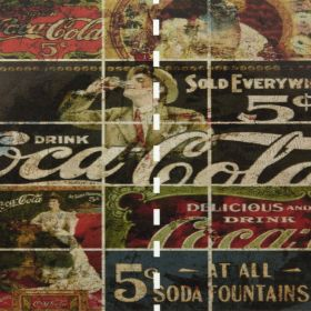 Fotomurales Coca Cola Retro