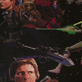 Papel pintado Star Wars