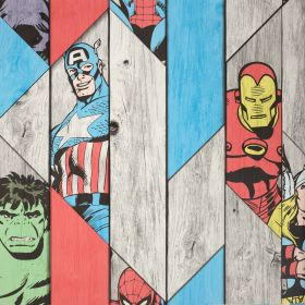 Papel pintado Super Héroes Marvel 2