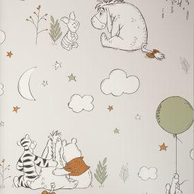 Papel pintado Winnie & Friends