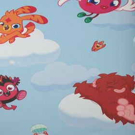 Papel pintado Moshi Monsters