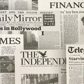 Papel pintado News