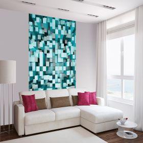 3D Cuadros Azules 1