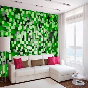 3D Cuadros Verdes 2